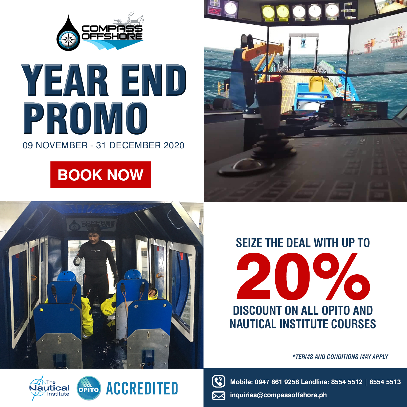 COMPASS Offshore - Year end Promo